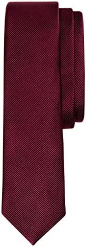 Salt & Dapper Mens Woven Silk Luxury Tie With Tie Bar & Giftbox