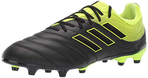 adidas Men's Copa 19.3 Firm Ground, Solar Yellow/Black, 11 M US