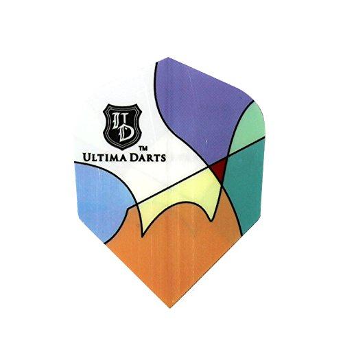 ダーツフライト ULTIMA DARTS FLIGHT-02 ペイント [アルティマダーツ フライト]