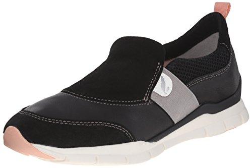 Geox D Sukie a, Women's Loafers Schwarz (Blackc9999)