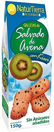Naturtierra - Kiwi - Galletas de avena - 150 g: Amazon.es ...