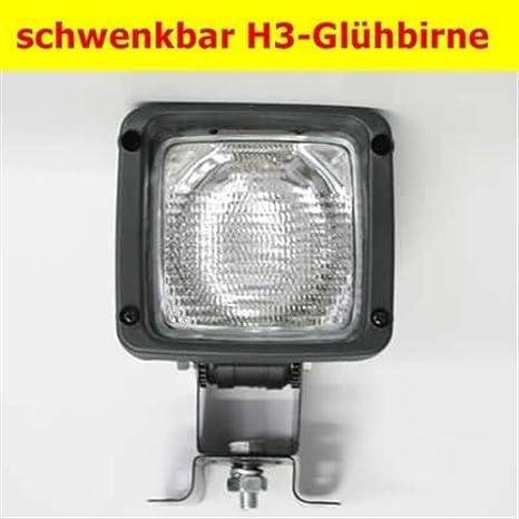 Arbeitsscheinwerfer Arbeitsleuchte Bauleuchte H3 Leuchte Baustrahler Bauleuchte