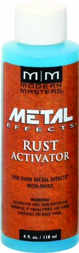 Modern Masters PA904-04 Rust Activator, - Finish Faux Spray