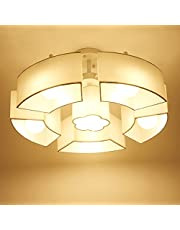 Lámpara de techo vintage Arte creativo restaurante Living Room lámparas Dormitorio Lámparas de oficina Lámparas de techo Lámparas de Corea moderna Pastoral de iluminación simple lámpara de techo
