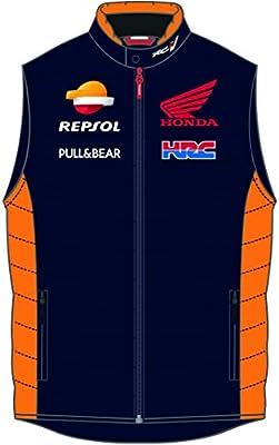 MotoGP Apparel - Chaqueta sin mango Team Repsol, azul, talla ...