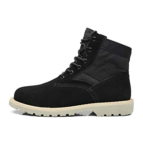 torcycle Boots Winter Casual Breathable Durable Desert Combat Boots ()