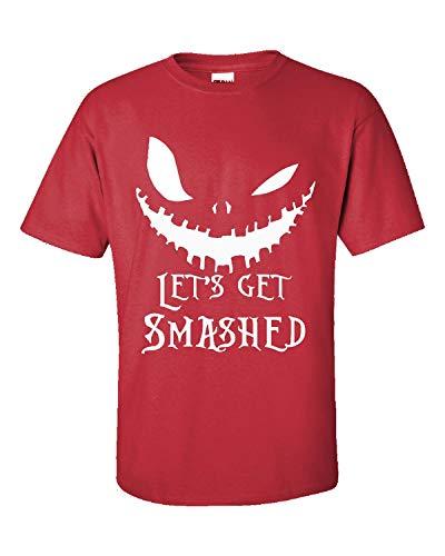 Lets Get Smashed Pumpkin Halloween Party Smashing Pumpkins - Adult Shirt 4XL -