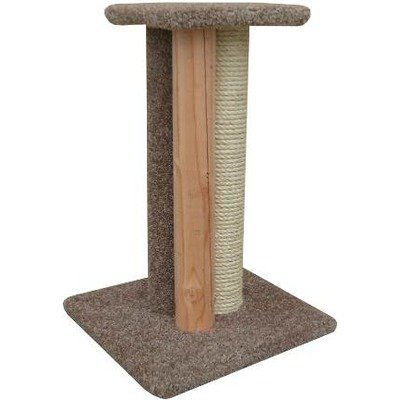 Triple Cat Scratcher Color: Gray, My Pet Supplies