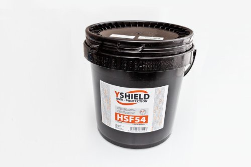 YSHIELD EMF Shielding Paint HSF54 5 Liter by EMF Protection Paint