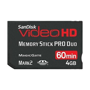 Sandisk SDMSPDHV-004G-E15 MemoryStick Memoria Flash 4 GB MS ...