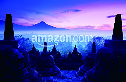 The Shutterstock Collection Borobudur Temple, Yogyakarta, Java, Indonesia. Poster Print, 17'' x 11'' by The Shutterstock Collection