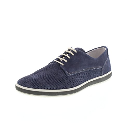 IGI 5681Blu Scarpa Uomo allacciata amp; CO Pelle scamosciata Jeans Turquoise outlet pay with paypal from china free shipping low price get authentic sale online eW3aEAh