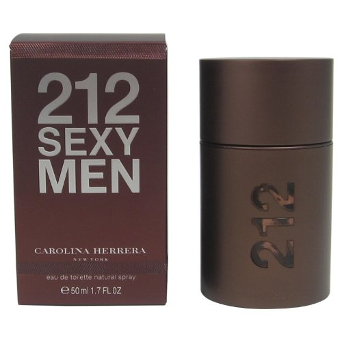 Carolina Herrera Ginger Eau De Toilette (212 Sexy By Carolina Herrera For Men. Eau De Toilette Spray 1.7-Ounce Bottle)