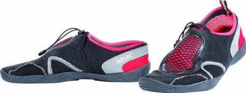 Seac Beach Aquatechnik Aquashoes (Black/Grey/Red, 44-45)