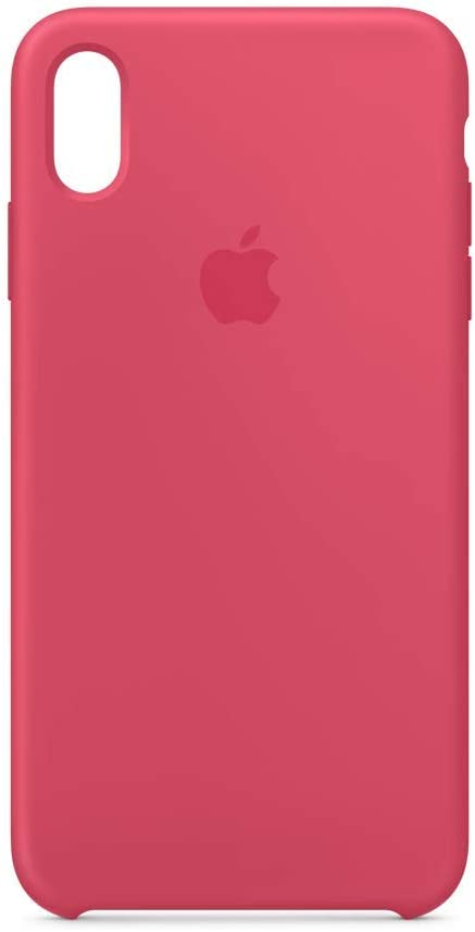 Apple Silicone Case (for iPhone Xs Max) - Hibiscus