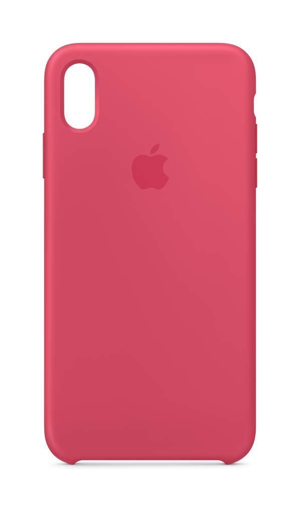 Apple iPhone Xs Max Silicone Case - Hibiscus