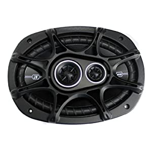 "4) New Kicker 41DSC6934 D-Series 6x9"" 720 Watt 3-Way Car Audio Coaxial Speakers"
