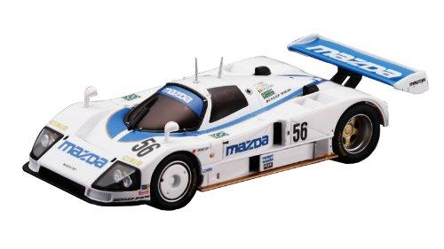 Kyosho - D1431040102 - Radio Commande, Vhicule Miniature - Voiture pour Circuit Routier - DSLOT43 Mazda 787 No.56 1991 LM - 1:43 me