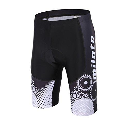 Uriah Men's Cycling Shorts 3D Coolmax Gel Padded Running Gear Size M(CN)