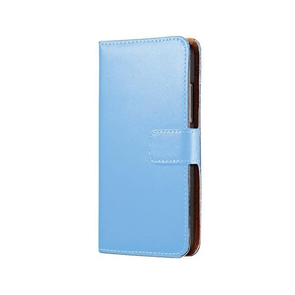 Eximmobile-Book Case Funda Carcasa para Huawei Funda con Tarjetero en 11Colores   Funda de Piel sintética   Funda como Funda Flip Case Cover   Funda   Funda de Piel sintética 4