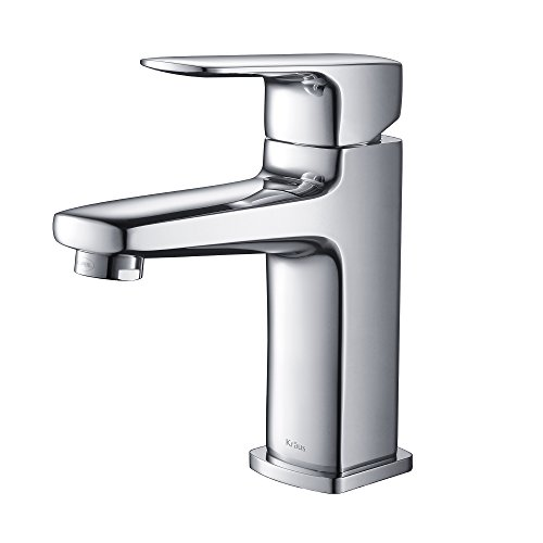 Kraus KEF-15501CH Virtus Single Lever Basin Bathroom Faucet Chrome