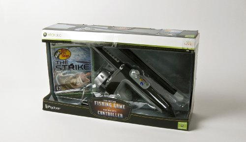 Bass pro shops the strike bundle with fishing rod xbox for Bass pro shop fishing games