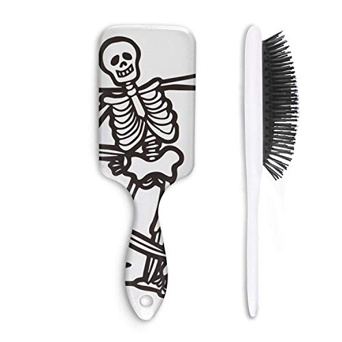 Cute Hair Brush Oh Snap Halloween Owl Funny Skeleton Massage Unisex Unique comfortable Straight hair Styling Beautiful women Head -