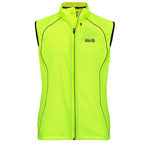 Time To Run Men's Windproof Running Gilet Large 42