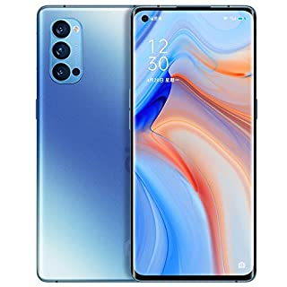 "Original Oppo Reno 4 Pro 5G Smartphone 8G+128GB 6.5"" 90Hz AMOLED Snapdragon765G 65W SupperVOOC Octa Core 48MP Camera 4000Mah OTG NFC Support Google by-(Real Star Technology ) (Crystal Blue)"