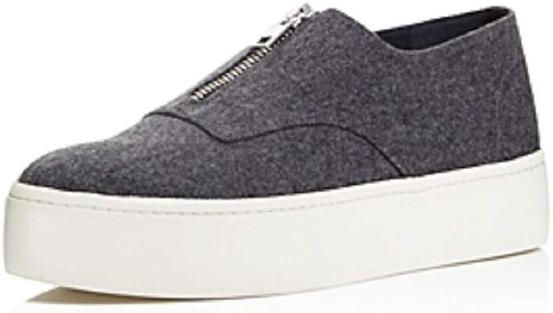 Vince Warner Flannel Platform Sneakers