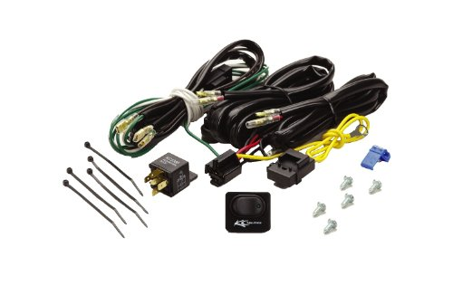 Flasher Wiring Relay (KC HiLiTES 6315 Wiring Harness with 40 Amp Relay and LED Rocker Switch)