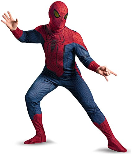 Disguise Inc - The Amazing Spider-Man Movie Deluxe Plus Adult Costume