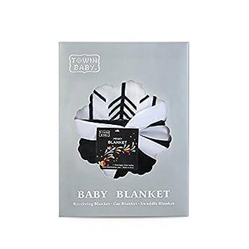 Mint 30x40 /… Towin Baby Arrow Minky Double Layer Receiving Blanket