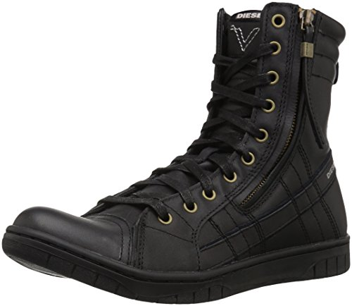 Diesel Men's Tatradium D-VALADIUM Fashion Boot, Black, 7 M US by Diesel