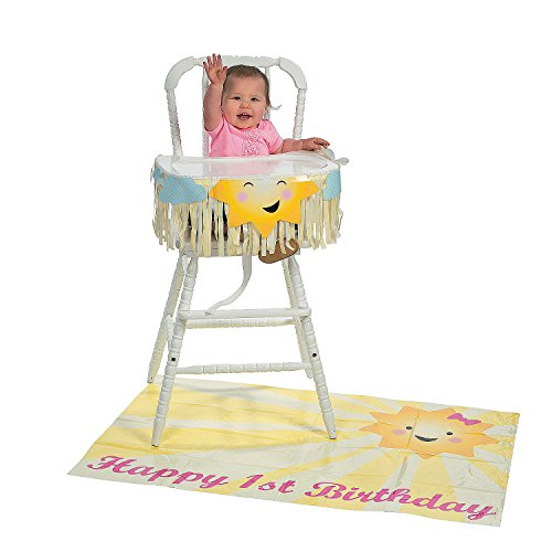You Are My Sunshine High Chair Kit - 1st Birthday Party Decor