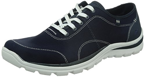 Skechers SuperiorPlame Superior Plame Relax Fit - Zapatillas de lona para hombre, color Azul (Blau (Nvy))