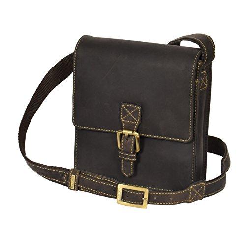 Sling Cross Handbag Body BROWN Small Bag Mens Leather Wallet Travel Flight Mobile Billy Vintage gUAdvdxqw