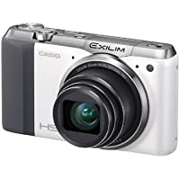 Casio High Speed Exilim Ex-ZR700 Digital Camera White EX-ZR700WE - International Version (No Warranty)