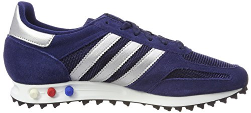 adidas Men's La Trainers Blue (Dkblue/Metsil/Dgreyh Dark Blue/Metallic Silver-sld/Dark Grey Heather) outlet best seller outlet cheap quality yRrbwA