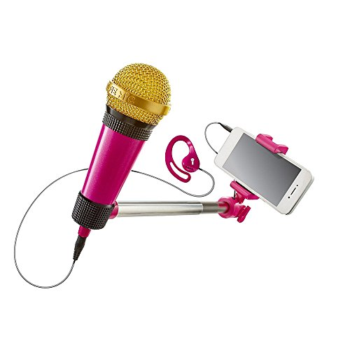 Selfie mic Music Set in Pink - Candlelight Gems