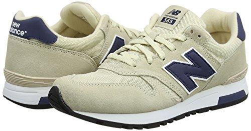 Classique Balance Pour De M565 beige Hommes New Chaussures Beige Course U7fwapq