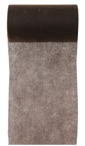 Santex Tischband Vlies braun 10cm x 10m
