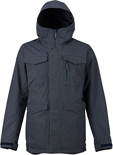 Burton Men's Covert Jacket, Denim, Large