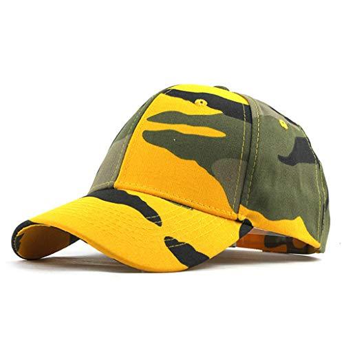 Barthylomo Baseball Cap, Unisex Camouflage Trucker Plain Baseball Visor Cap Dad Hat Outdoor