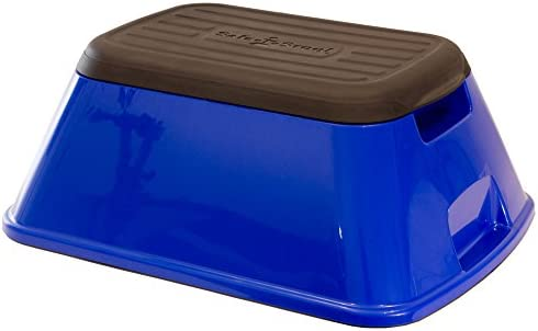 Safe-T-Stool the Safest, Most Versatile Stool in America GLOSSY BLUE