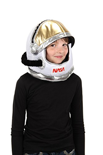elope Astronaut Costume Plush Helmet Hat for Kids