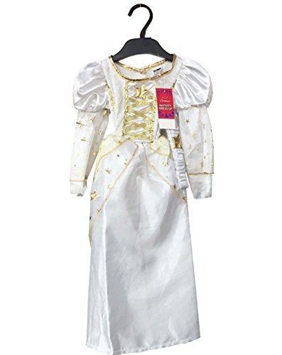 My Choice Stuff Toddler Retro Fancy White Angel Outfit Children Nativity Fairy Angel Party Wear Costume 2-3 Years