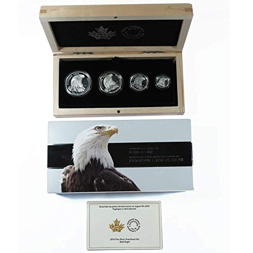 2015 CA Bald Eagle 4 Coin Set - Coins Bald Eagle