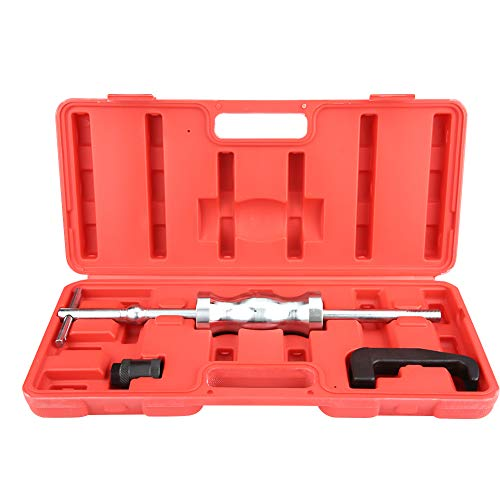 Diesel Injector Extractor, 3pcs Common Rail Injector Remover Tool Kit with Slide Hammer for Car Puller Injection Repairing