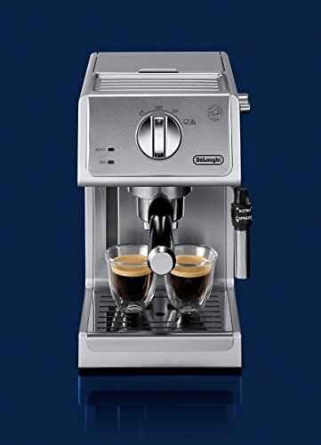 De'Longhi ECP3630 15 Bar Pump Espresso and Cappuccino Machine, Stainless Steel (ECP3630)